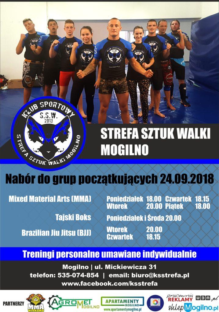 Nabór Grup Początkujących Sporty Walki Klub Sportowy Strefa