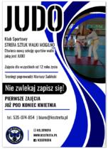 Judo – nowa sekcja w klubie